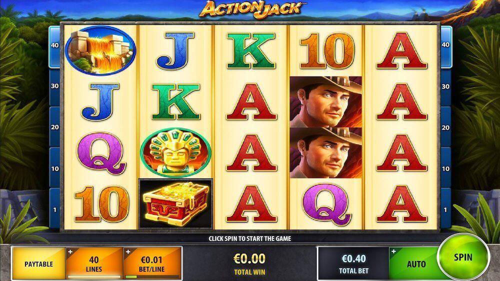 Jugar Gratis a la Action Jack tragaperras online