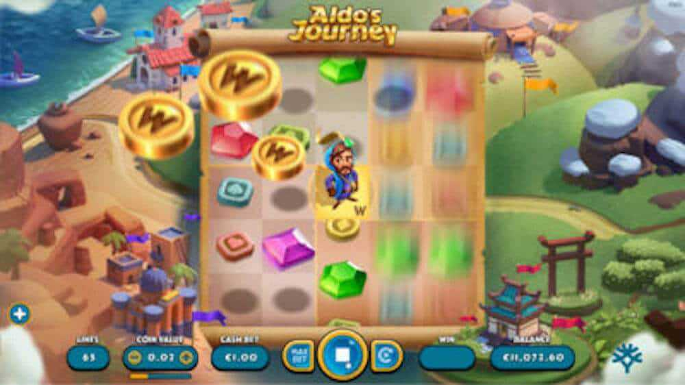 Jugar Gratis a la Aldo's Journey tragaperras online