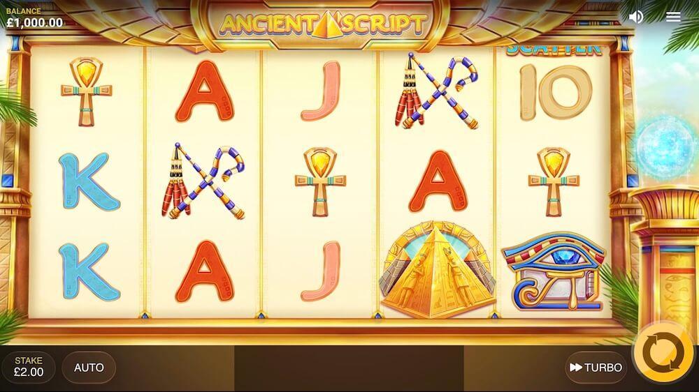 Jugar Gratis a la Ancient Script tragaperras online