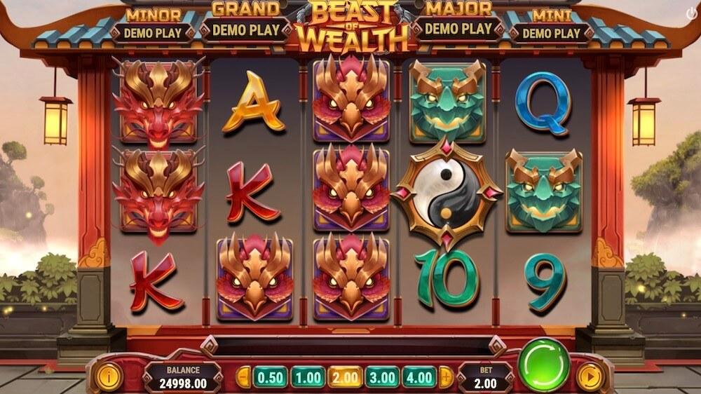 Jugar Gratis a la Beast of Wealth tragaperras online