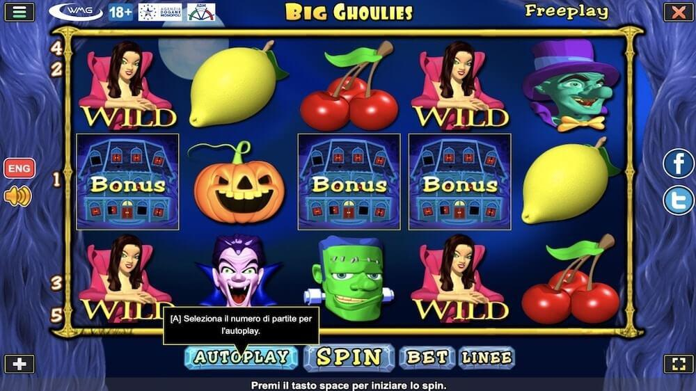 Jugar Gratis a la Big Ghoulies Evolution tragaperras online