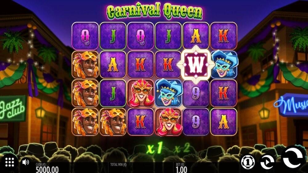 Jugar Gratis a la Carnival Queen tragaperras online