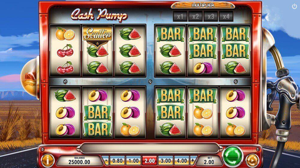 Jugar Gratis a la Cash Pump tragaperras online