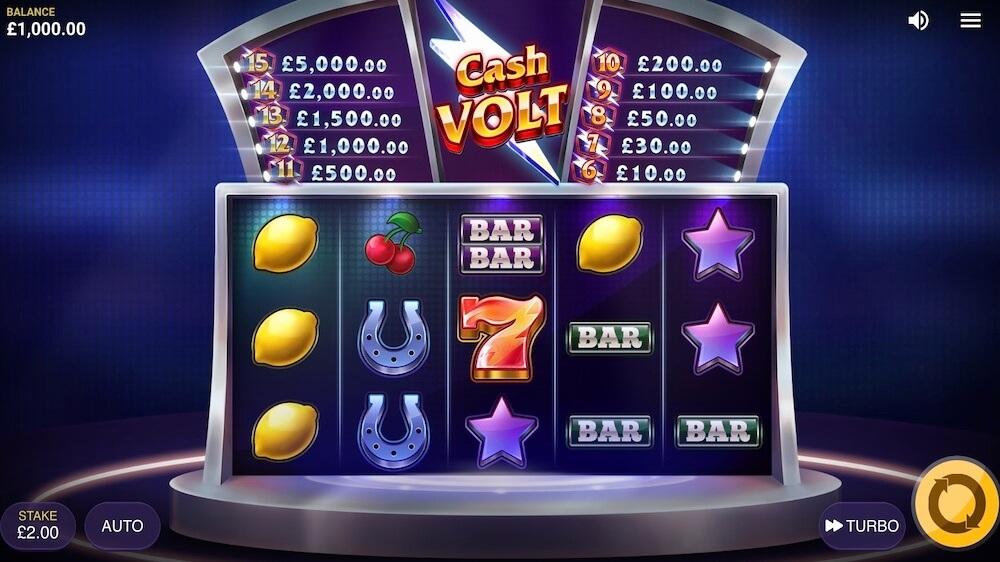 Jugar Gratis a la Cash Volt tragaperras online
