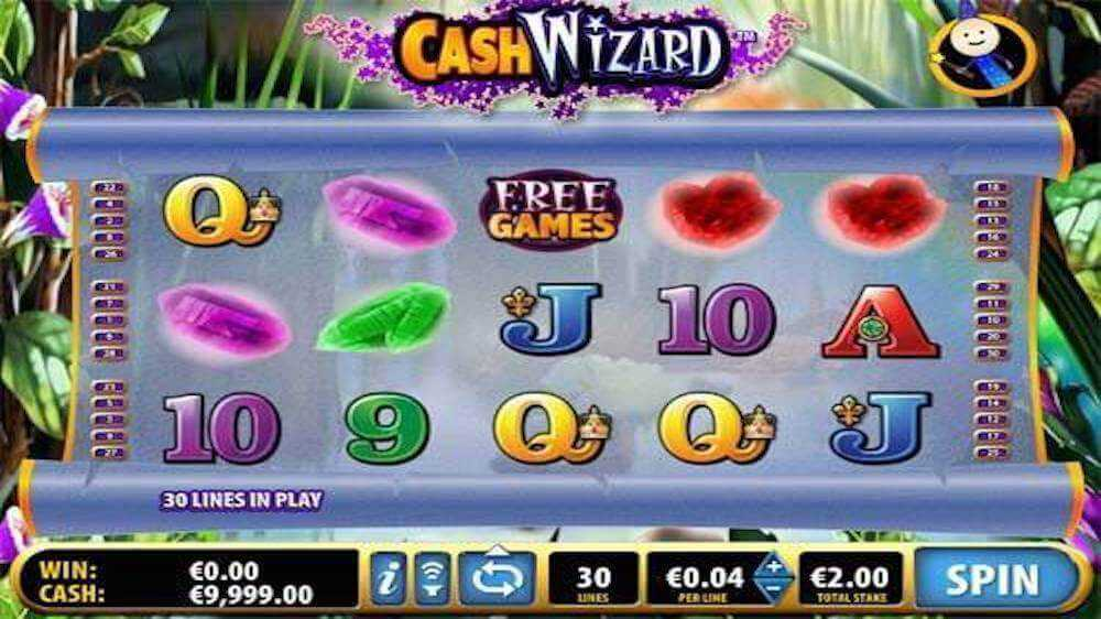 Jugar Gratis a la Cash Wizard tragaperras online