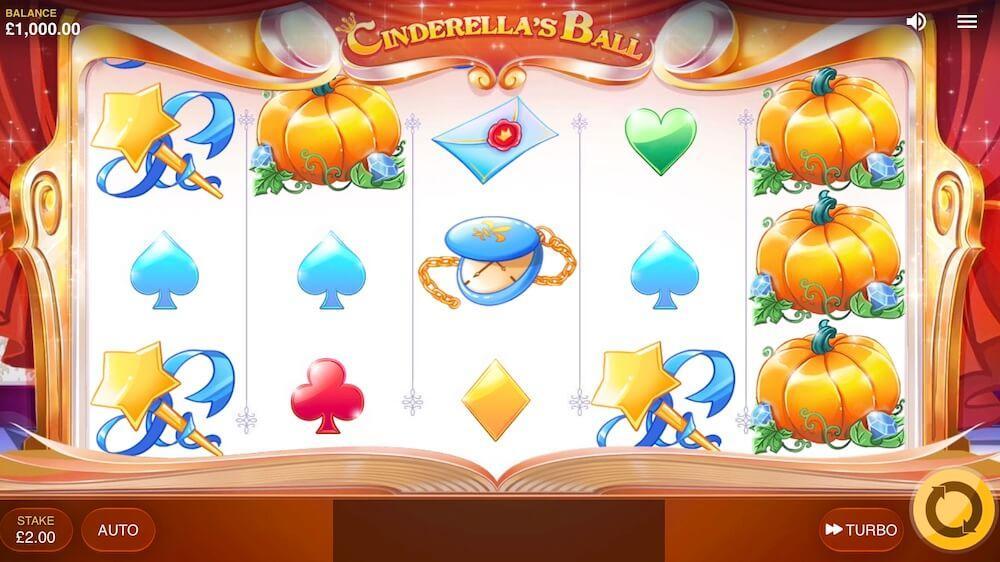 Jugar Gratis a la Cinderella's Ball tragaperras online