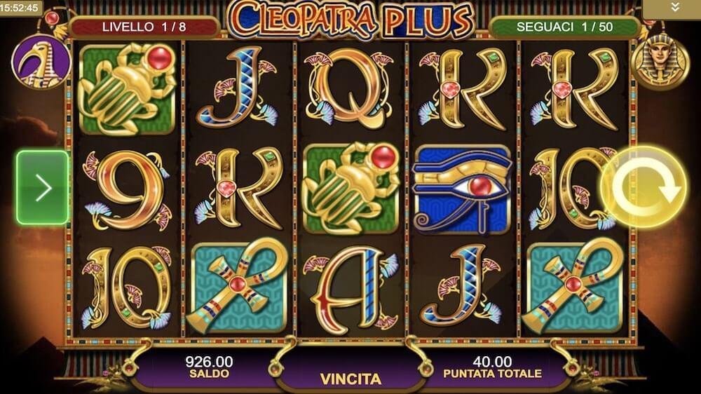 Jugar Gratis a la Cleopatra tragaperras online