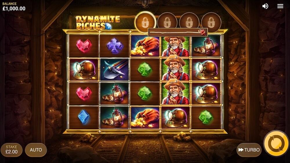 Jugar Gratis a la Dynamite Riches tragaperras online
