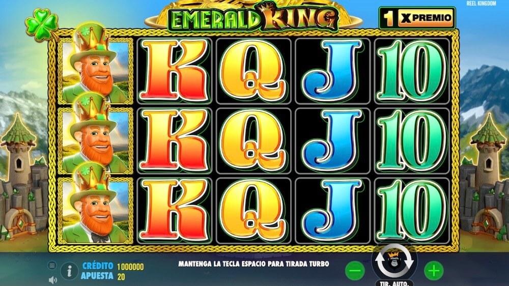 Jugar Gratis a la Emerald King tragaperras online