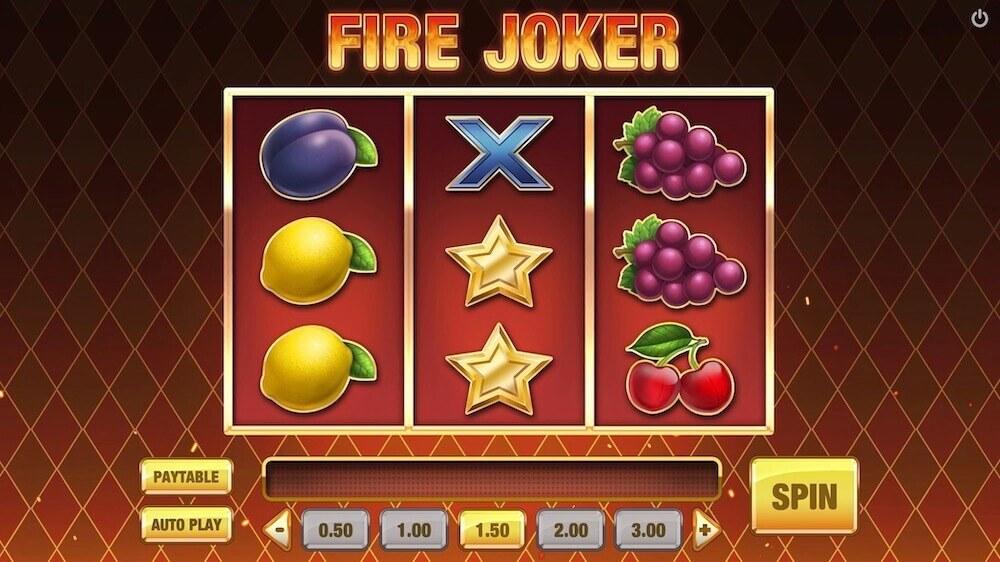 Jugar Gratis a la Fire Joker tragaperras online