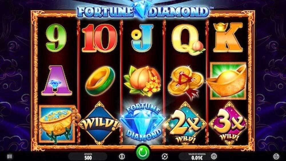 Jugar Gratis a la Fortune Diamond tragaperras online