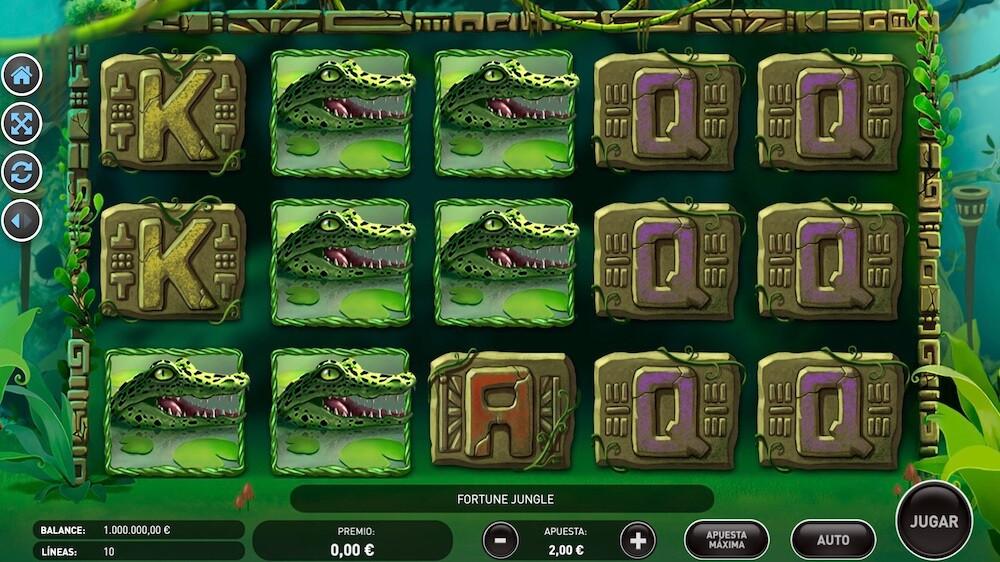 Jugar Gratis a la Fortune Jungle tragaperras online