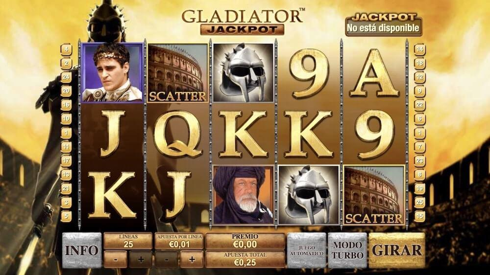 Jugar Gratis a la Gladiator tragaperras online