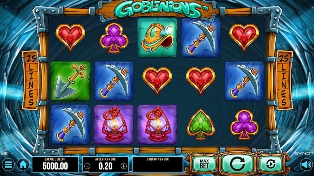 Jugar Gratis a la Goblinions tragaperras online