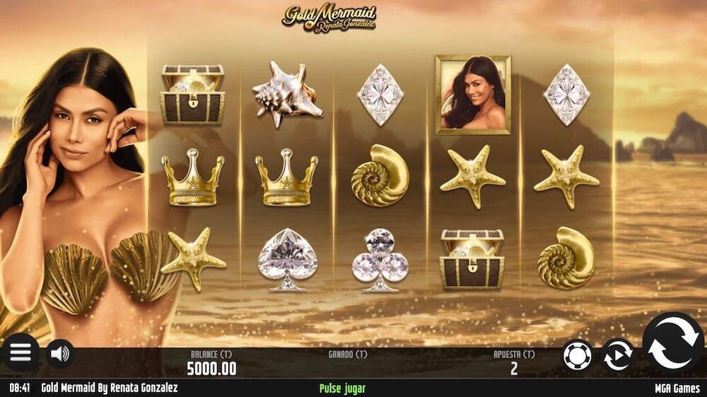 Jugar Gratis a la Gold Mermaid tragaperras online