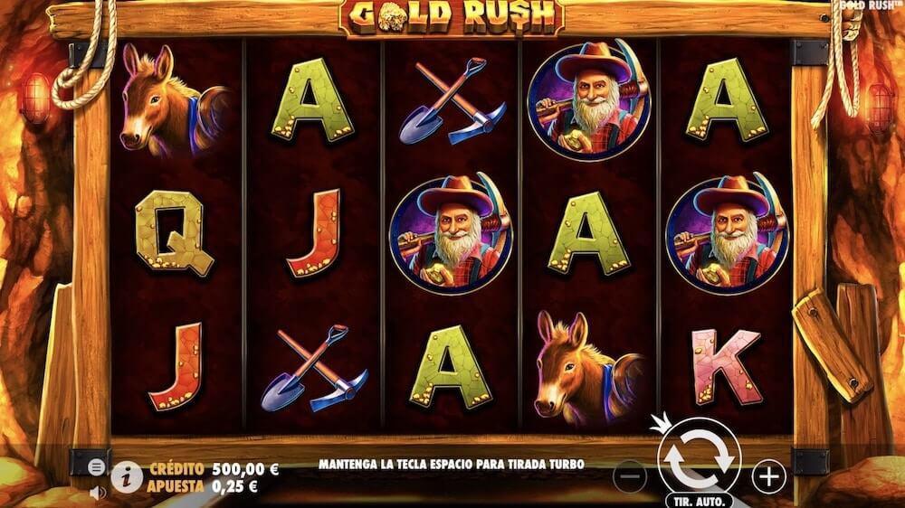 Jugar Gratis a la Gold Rush tragaperras online