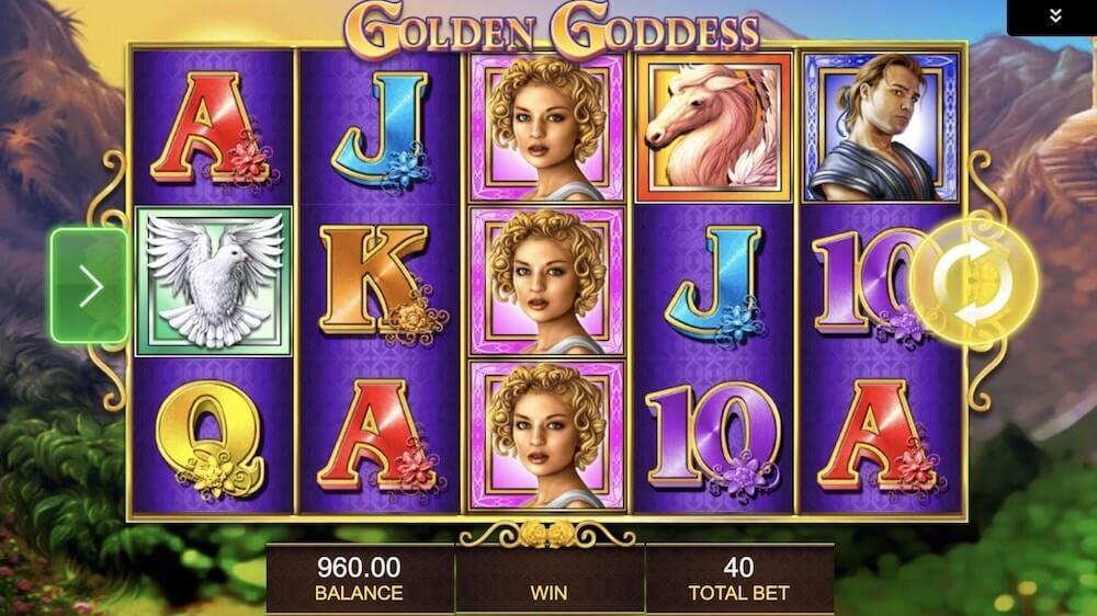 Jugar Gratis a la Golden Goddess tragaperras online