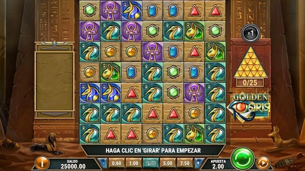 Jugar Gratis a la Golden Osiris tragaperras online