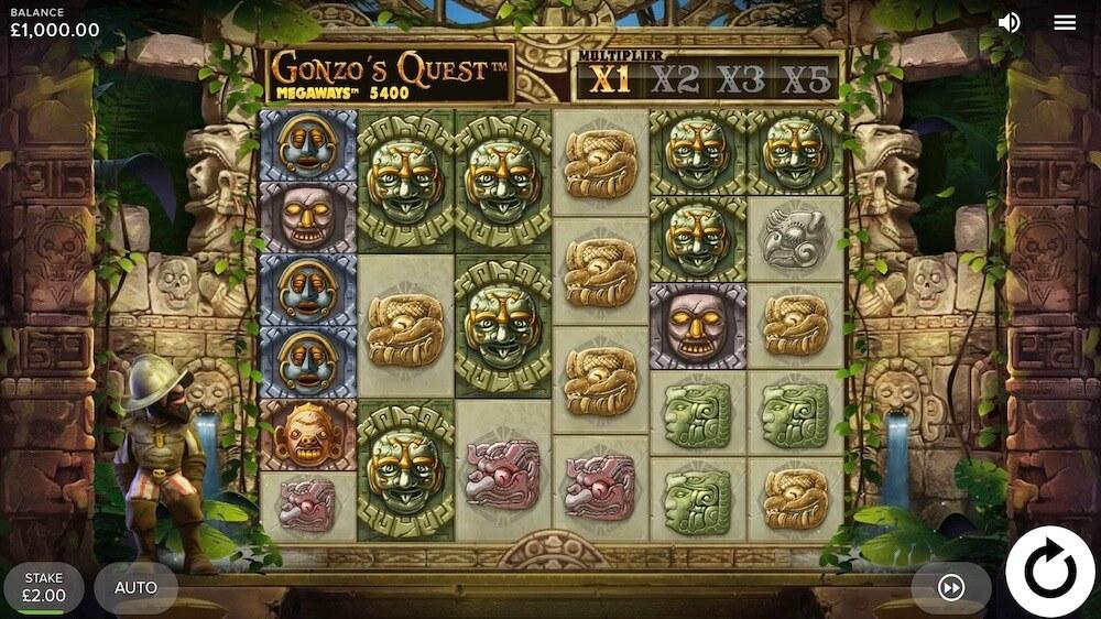 Jugar Gratis a la Gonzo's Quest Megaways tragaperras online