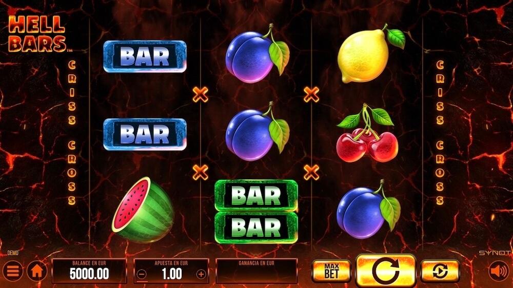 Jugar Gratis a la Hell Bars tragaperras online