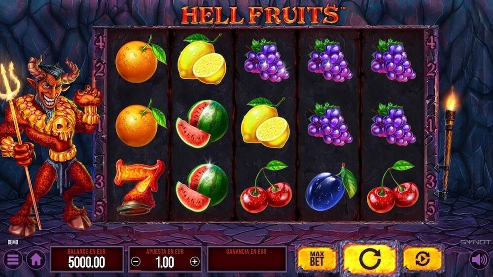 Jugar Gratis a la Hell Fruits tragaperras online