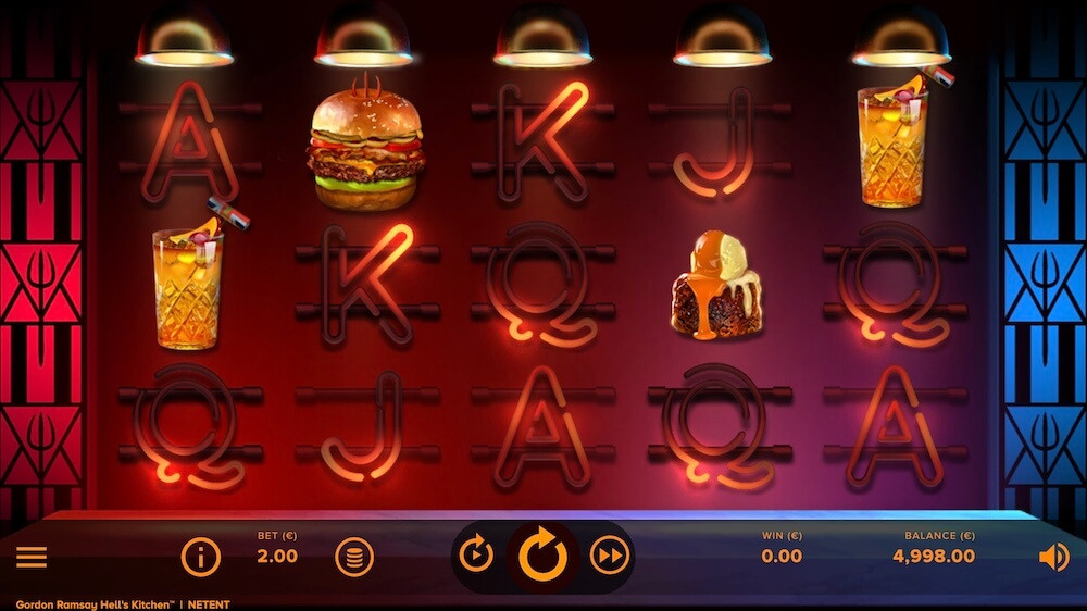 Jugar Gratis a la Gordon Ramsay Hell's Kitchen tragaperras online
