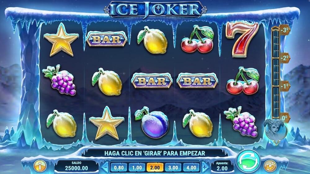 Jugar Gratis a la Ice Joker tragaperras online