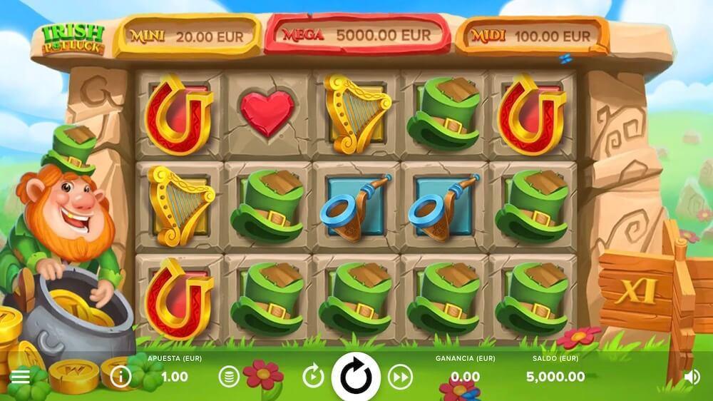 Jugar Gratis a la Irish Pot Luck tragaperras online
