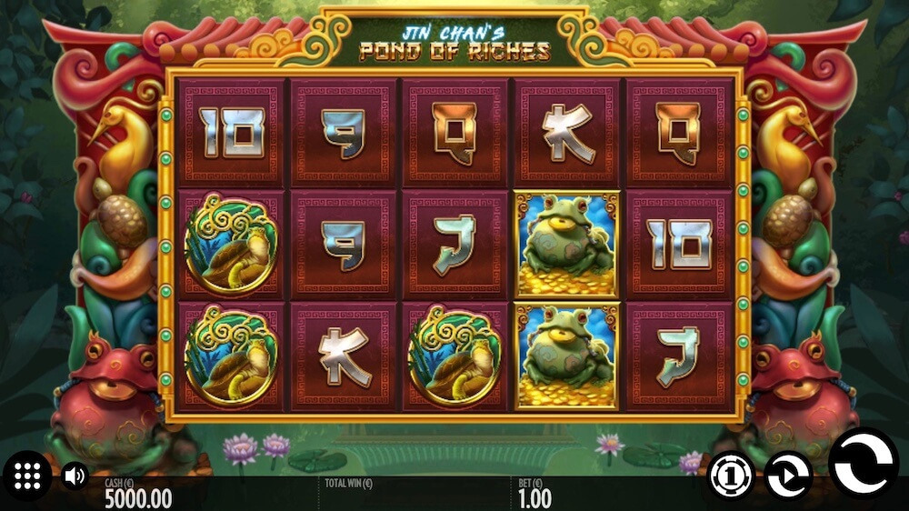Jugar Gratis a la Jin Chan's Pond of Riches tragaperras online