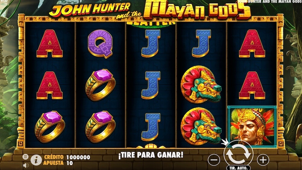 Jugar Gratis a la John Hunter and the Mayan Gods tragaperras online