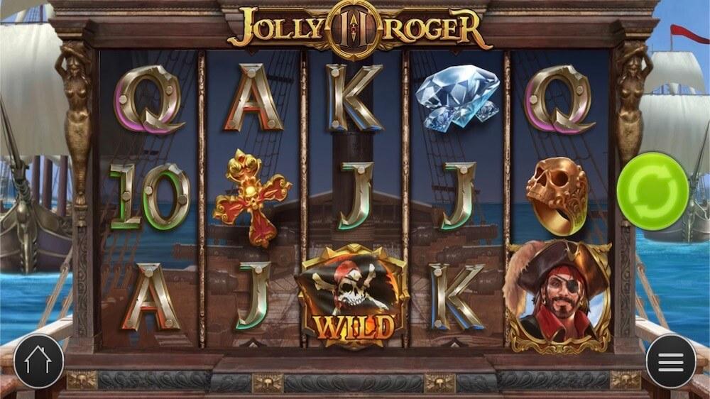Jugar Gratis a la Jolly Roger 2 tragaperras online