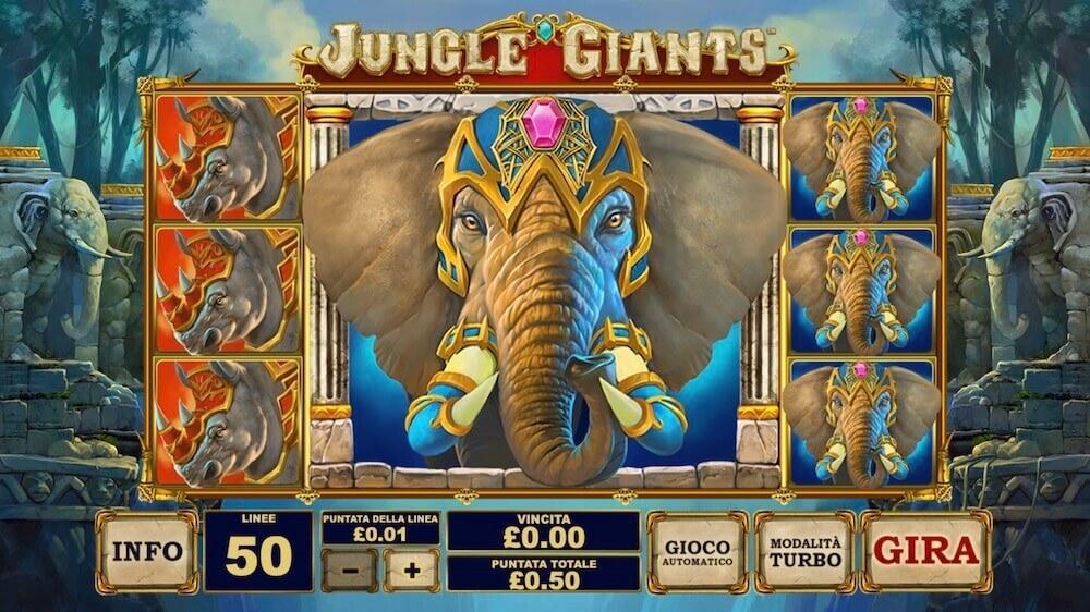 Jugar Gratis a la Jungle Giants tragaperras online