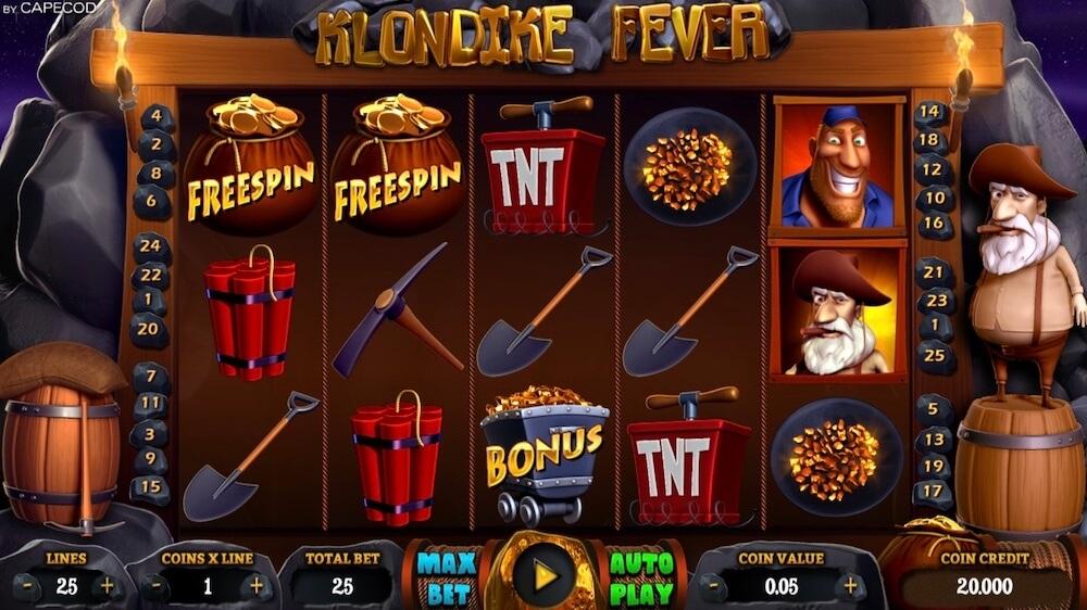 Jugar Gratis a la Klondike Fever tragaperras online