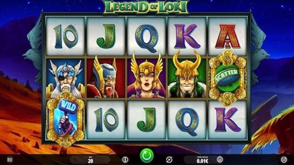 Jugar Gratis a la Legend of Loki tragaperras online