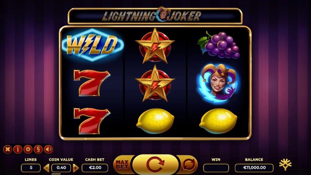 Jugar Gratis a la Lightning Joker tragaperras online