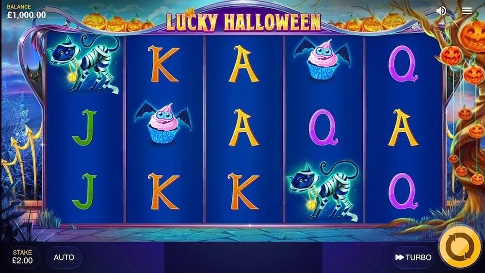 Jugar Gratis a la Lucky Halloween tragaperras online