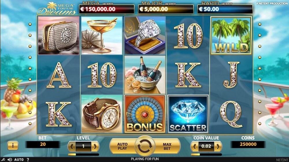 Jugar Gratis a la Mega Fortune Dreams tragaperras online