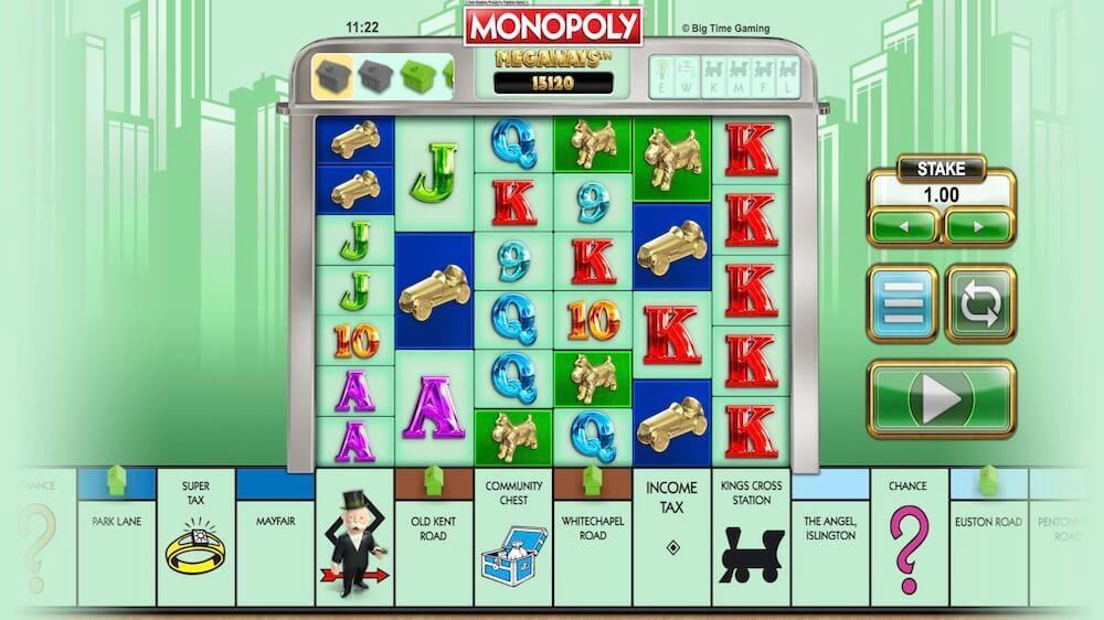 Jugar Gratis a la Monopoly Megaways tragaperras online