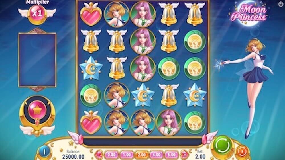 Jugar Gratis a la Moon Princess tragaperras online
