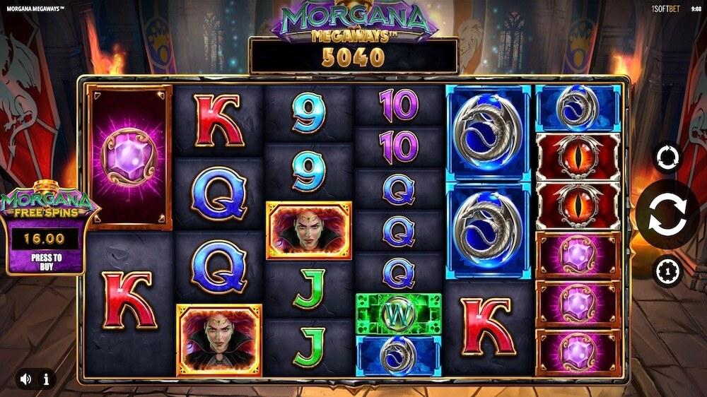 Jugar Gratis a la Morgana Megaways tragaperras online