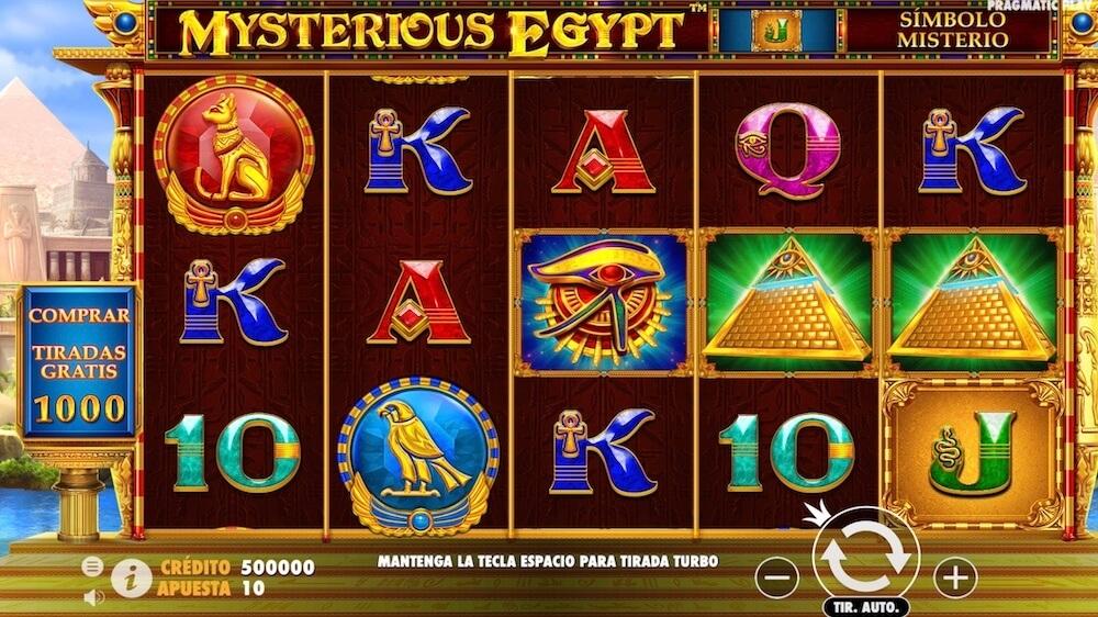 Jugar Gratis a la Mysterious Egypt tragaperras online