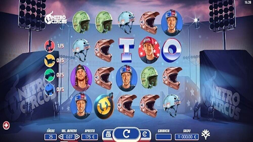 Jugar Gratis a la Nitro Circus tragaperras online