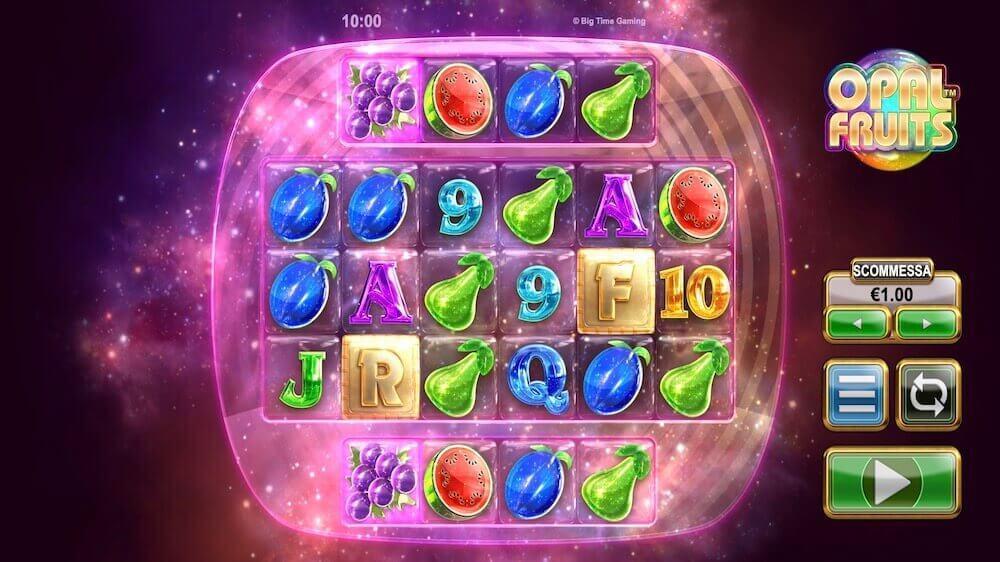 Jugar Gratis a la Opal Fruits tragaperras online