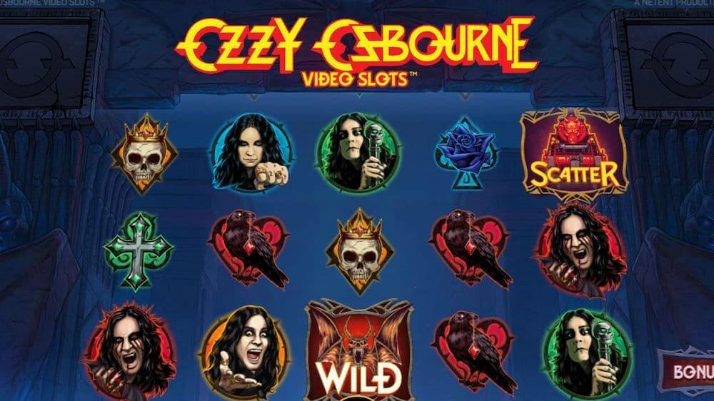 Jugar Gratis a la Ozzy Osburne tragaperras online