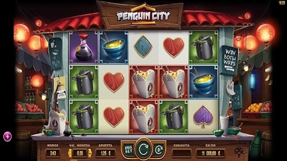 Jugar Gratis a la Penguin City tragaperras online