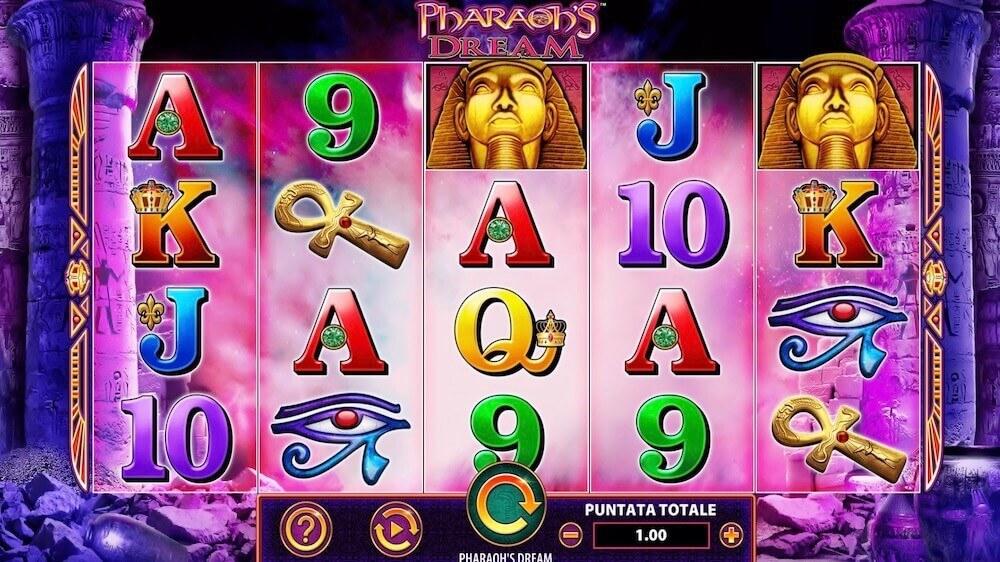 Jugar Gratis a la Pharaoh's Dream tragaperras online