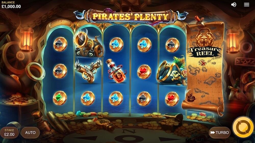 Jugar Gratis a la Pirates' Plenty tragaperras online