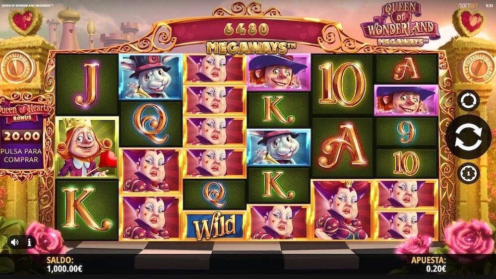 Jugar Gratis a la Queen of Wonderland Megaways tragaperras online