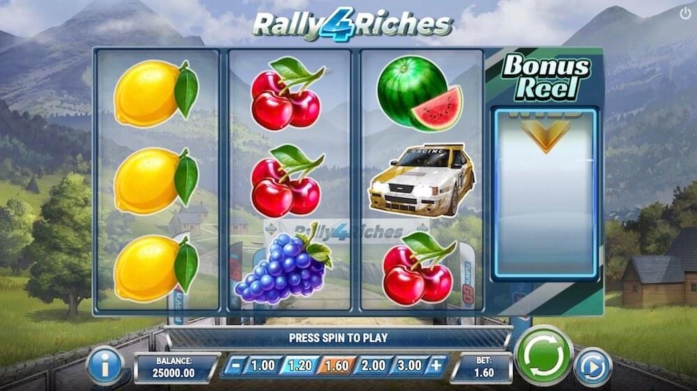 Jugar Gratis a la Rally 4 Riches tragaperras online