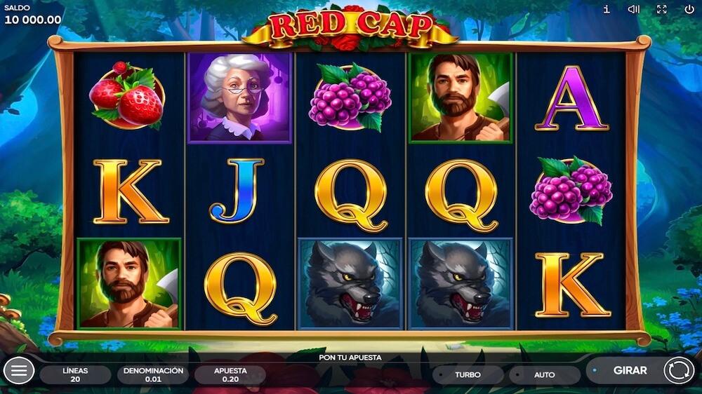 Jugar Gratis a la Red Cap tragaperras online